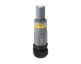 POWERLOCK 660A • Fiche drain Ph3 Gris à sertir 240° PG36 - 1000V