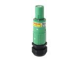 POWERLOCK 660A • Fiche drain Terre Vert à sertir 240° PG36 - 1000V-cablage