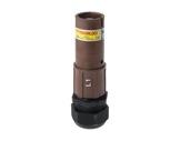 POWERLOCK 660A • Fiche Source Ph1 marron à sertir 240° PG36 - 1000V-cablage