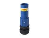 POWERLOCK 660A • Fiche Source Neutre Bleu à sertir 240° PG3 - 1000V-cablage