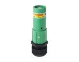 POWERLOCK 660A • Fiche Source Terre Vert à sertir 240° PG36 - 1000V