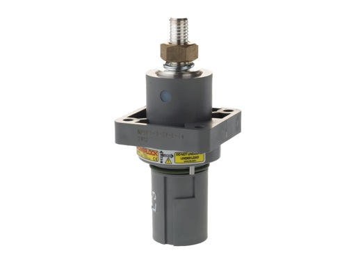 POWERLOCK 400A • Embase drain Ph3 Gris M12 - 1000V