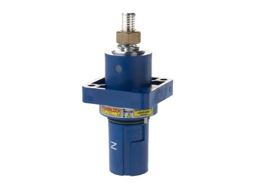 POWERLOCK 400A • Embase drain Neutre Bleu M12 - 1000V