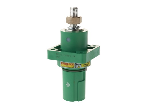 POWERLOCK 400A • Embase drain Terre Vert M12 - 1000V