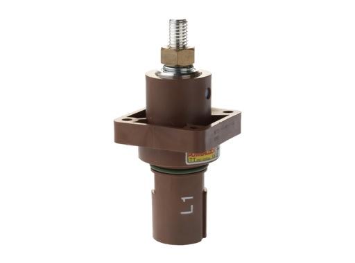 POWERLOCK 660A • Embase drain Ph1 marron M12 - 1000V