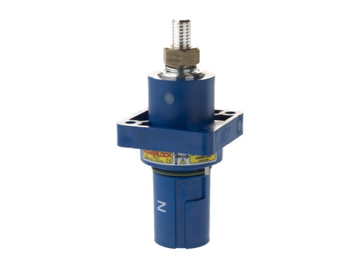 POWERLOCK 660A • Embase drain Neutre Bleu M12 - 1000V
