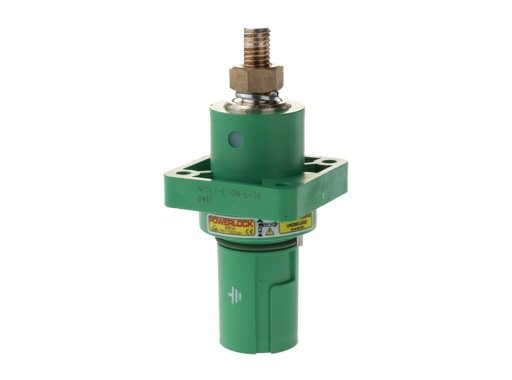 POWERLOCK 660A • Embase drain Terre Vert M12 - 1000V