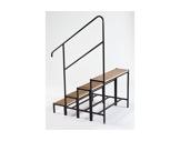 PRATICABLE MUTANT & STABILO • Escalier 3 marches-hauteur 60cm-praticables