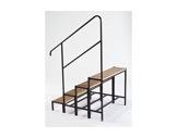 PRATICABLE MUTANT & STABILO • Escalier 4 marches-hauteur 80cm-praticables