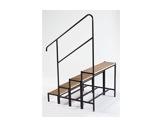 PRATICABLE STABILO • Main courante pour escalier 4 marches-longueur 100cm-praticables