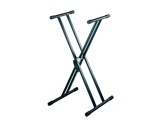 PIED • STAND noir forme X 0,60 à 1,00m charge 40kg-stands-supports