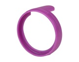 NEUTRIK • Bague pour fiche série NPXX violet-neutrik