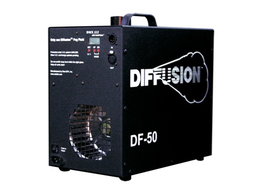 REEL EFX • Machine à brouillard DF50 DMX