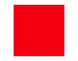 ROSCO SUPERGEL • Scarlet Feuille 0,50m x 0,61m-consommables