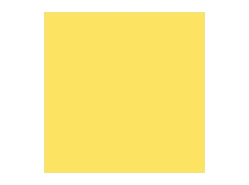 ROSCO SUPERGEL • Light Relief Yellow - Feuille 0,50 x0,61 m