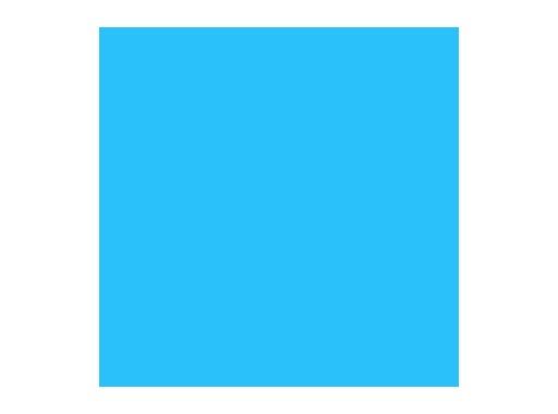 ROSCO SUPERGEL Jordan Blue - feuille 0,5 m x 0,61m