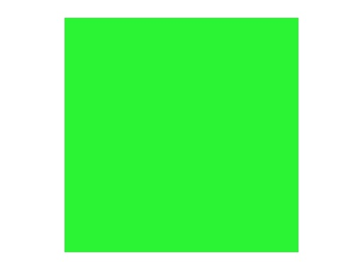 ROSCO SUPERGEL • Chroma Green Feuille 0,50m x 0,61m