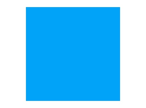 Filtre gélatine ROSCO SUPERGEL Brillant Blue - rouleau 7,62m x 0,61m