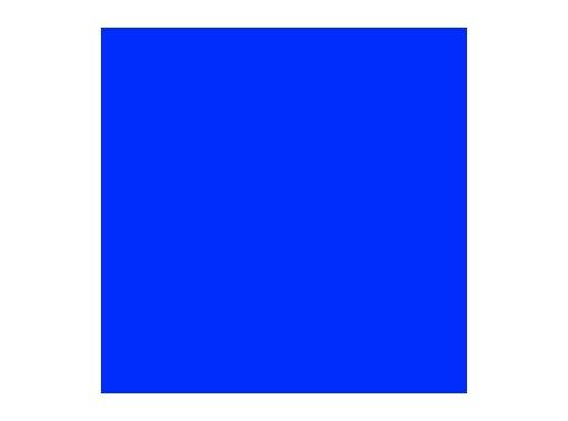 ROSCO SUPERGEL • Medium Blue Feuille 0,50m x 0,61m