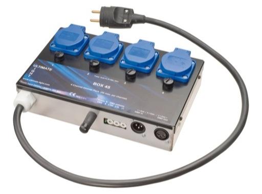 RVE • Gradateur BOX 45 4 X 1 Kw DMX512