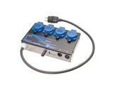 RVE • Gradateur BOX 45 4 X 1 Kw DMX512-gradateurs