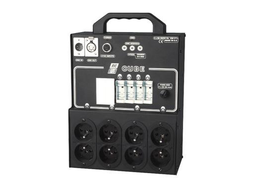 RVE • Gradateur Cube 4 X 1,4 Kw + DPN 6A