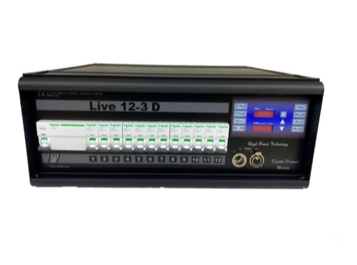 RVE • LIVE PORTABLE 12x3 kW PRISES 10/16A NF