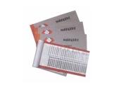 SES • Carnet SMR-BK01 450 Rubans / Chiffres 0 à 9-attaches