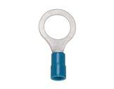 SES • Cosses à oeil bleu Ø 6,5 câble 1 à 2,5mm2 (les 100)-attaches