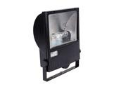 Projecteur iodure 150W asymétrique noir + lampe • SET150-projecteurs-en-saillie