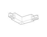 SLI • Coupleur blanc en L intérieur pour rail Lytespan 3 L3-eclairage-archi--museo-