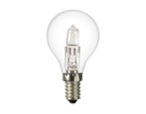 SLI • SPHERIQUE CLAIRE Classe ECO 42W 230V E14-lampes-halogenes-classe-eco