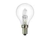 SLI • SPHERIQUE CLAIRE Classe ECO 28W 230V E14-lampes-halogenes-classe-eco