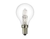 SLI • SPHERIQUE CLAIRE Classe ECO 18W 230V E14-lampes-halogenes-classe-eco