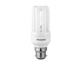FAST START V2 8W 2700K B22 12000H Ø42 L111mm Flux 450lm-lampes-fluo-compactes