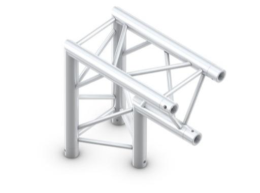 Structure trio angle 90° pointe en bas - M290 QUICKTRUSS