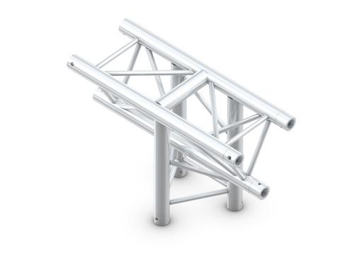 Structure trio té vertical 3 directions pointe en bas - M290 QUICKTRUSS