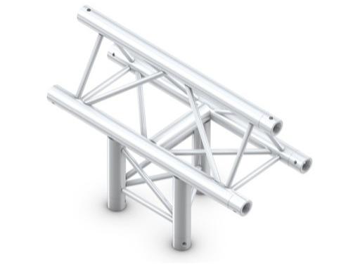 Structure trio té vertical 3 directions pointe en haut - M290 QUICKTRUSS