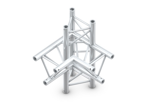 Structure trio angle 90° 4 directions vertical gauche - M290 QUICKTRUSS