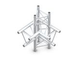 QUICKTRUSS • Trio M290 Angle 90° 4 directions vertical gauche + kit de jonction-structure-machinerie