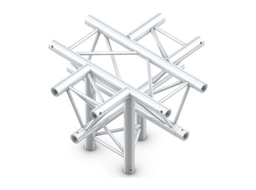 Structure trio croix 5 directions pointe en bas - M290 QUICKTRUSS