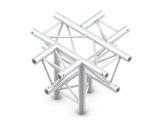 QUICKTRUSS • Trio M290 Croix 5 directions pointe en bas + kit de jonction-structure-machinerie