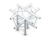 Structure trio croix 5 directions pointe en bas - M290 QUICKTRUSS-structure-machinerie