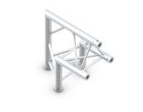 QUICKTRUSS • Trio M222 Angle 90° pointe en haut + kit de jonction-structure-machinerie
