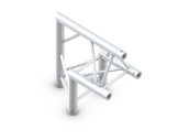 Structure trio angle 90° pointe en haut - M222 QUICKTRUSS-structure-machinerie