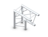 QUICKTRUSS • Trio M222 Angle 90° pointe en bas + kit de jonction-structure-machinerie