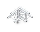 Structure trio angle 90° 3 directions droit pointe en haut - M222 QUICKTRUSS-structure-machinerie