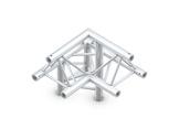 QUICKTRUSS • Trio M222 Angle 90° 3 directions gauche pointe en haut + kit-structure-machinerie