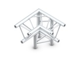Structure trio angle 90° 3 directions droit pointe en bas - M222 QUICKTRUSS-structure-machinerie