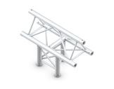 QUICKTRUSS • Trio M222 Té vertical 3 directions pointe en haut + kit de jonction-structure-machinerie